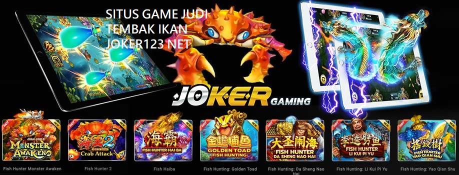 SITUS GAME JUDI TEMBAK IKAN JOKER123 NET