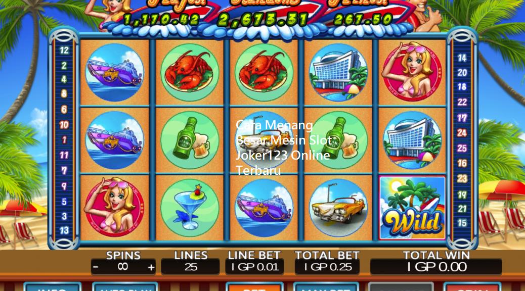 Cara Menang Besar Mesin Slot Joker123 Online Terbaru