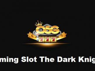 Gaming Slot The Dark Knight