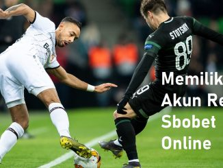 Memiliki Akun Resmi Sbobet Online
